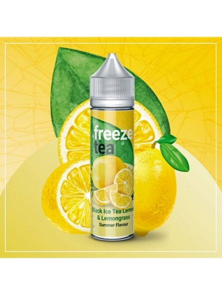 Black Ice Tea Lemon & Lemongrass 50ml Freeze Tea